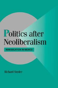 Politics after Neoliberalism: Reregulation in Mexico (Cambridge Studies in Comparative Politics)