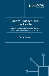 Politics, Finance, and the People