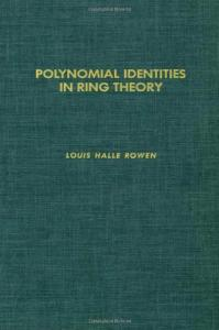 Polynomial identities in ring theory