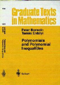 Polynomials And Polynomial Inequalities