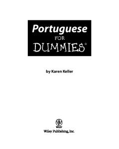 Portuguese For Dummies (For Dummies (Language & Literature))