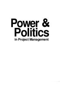 Power and Politics in Project Management