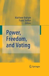 Power, Freedom, and Voting
