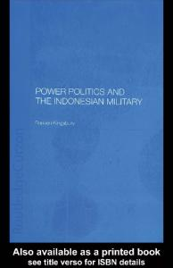 Power Politics and the Indonesian Military
