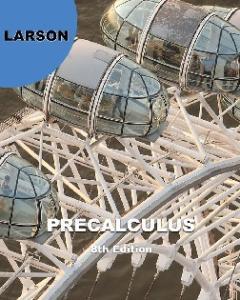 Precalculus, 8th Edition