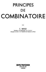 Principes de combinatoire