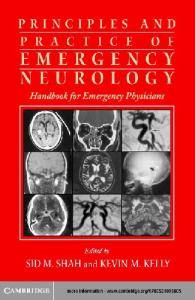 Principles and Practice of Emergency Neurology: Handbook for Emergency Physicians