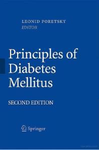 Principles of Diabetes Mellitus, 2nd edition