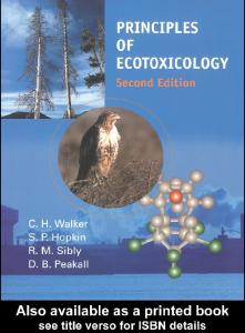 Principles of Ecotoxicology, 2nd Edition