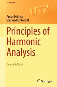 Principles of Harmonic Analysis, 2nd edition