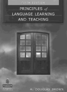 Principles of Language Learning and Teaching (5th Edition)