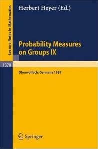 Probability Measures on Groups IX