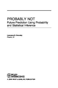 Probability and Statistical Inference (9th Edition) - PDF