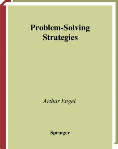 Problem-Solving Strategies (Problem Books in Mathematics)