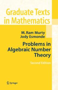 Problems in Algebraic Number Theory, Second Edition
