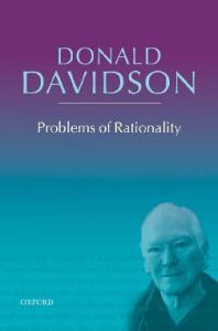 Problems of Rationality