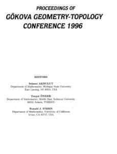 Proceedings of Gokova Geometry-Topology Conference 1996