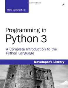 Professional Programming in Python 3