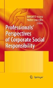 Professionals? Perspectives of Corporate Social Responsibility