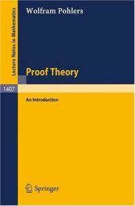 Proof Theory. An Introduction