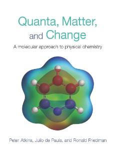 Quanta, Matter and Change: A Molecular Approach to Physical Chemistry