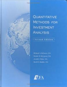 quantitative methods for investment analysis download firefox