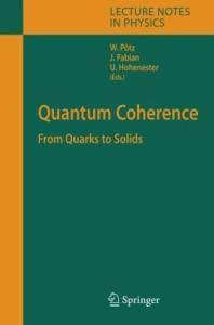 Quantum Coherence