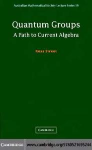 Quantum Groups: A Path to Current Algebra (Australian Mathematical Society Lecture Series)