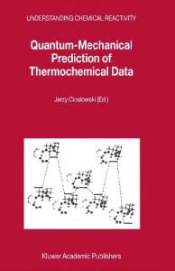 Quantum-mechanical prediction of thermochemical data
