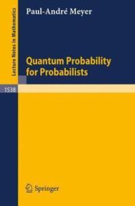 Quantum probability for probabilists