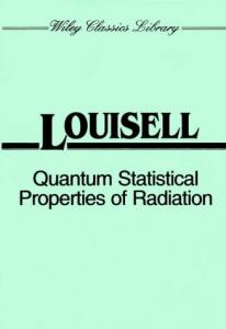 Quantum statistical properties of radiation