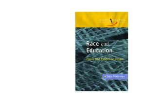 Race and Education (Introducing Social Policy)