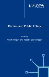 Racism and Public Policy