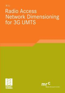 Radio Access Network Dimensioning for 3G UMTS