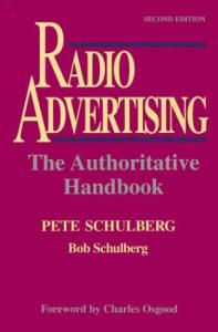 Radio advertising: the authoritative handbook