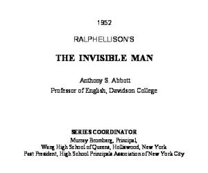 Ralph Ellisons Invisible Man: A Reference Guide (Greenwood Guides to Multicultural Literature)