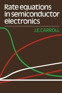 Rate Equations in Semiconductor Electronics