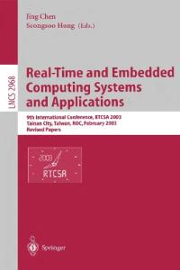 Real Time and Embedded Computing Systems