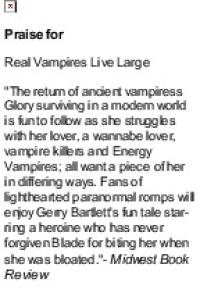 Real Vampires Get Lucky