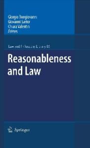 Reasonableness and Law (Law and Philosophy Library)