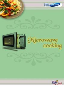 Recipes - Microwave Indian Recipes