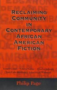 Reclaiming community in contemporary African-American fiction