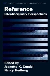 Reference: Interdisciplinary Perspectives (New Directions in Cognitive Science)