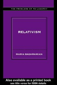 Relativism (Problems of Philosophy)