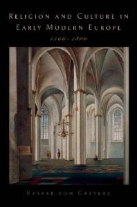 Religion and Culture in Early Modern Europe, 1500-1800