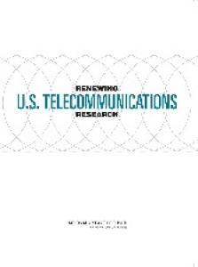 Renewing U.S. Telecommunications Research
