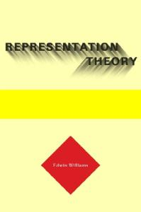 Representation Theory (Current Studies in Linguistics)