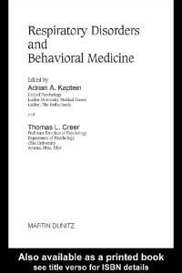 Respiratory Disorders and Behavioral Research