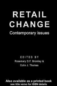Retail Change - Contemporary Issues