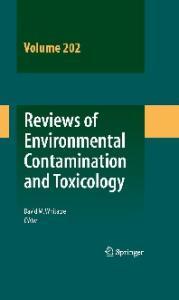 Reviews of Environmental Contamination and Toxicology Vol 202